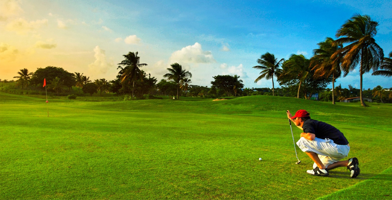 photo d'un joueur de golf
