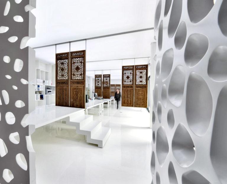 Photographie intérieure design d'une start-up