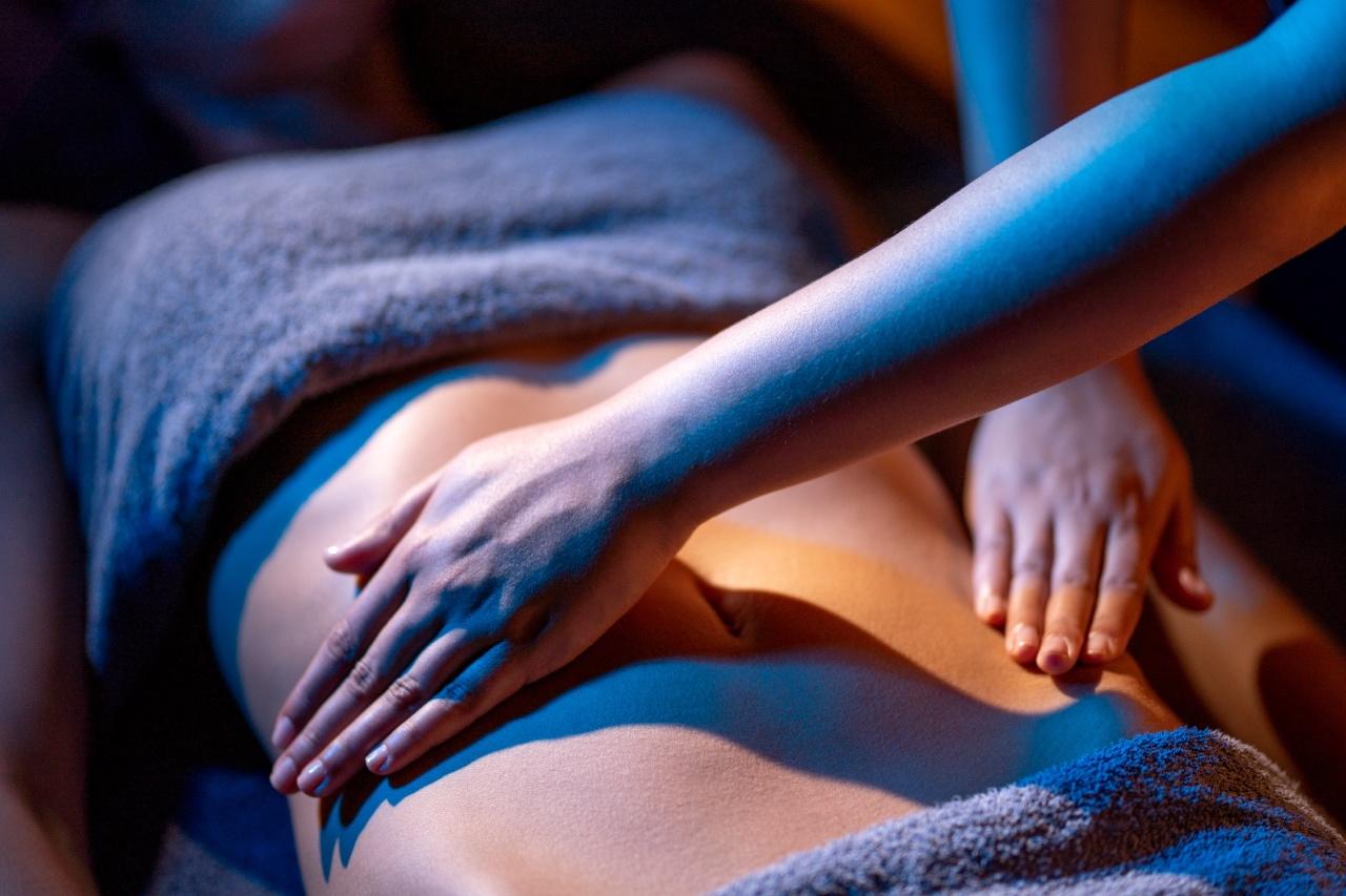 photo d'un massage pour femme en thalasso