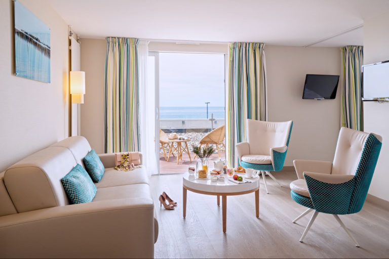 Photo d'une suite à l'hôtel de la Baie en Normandie