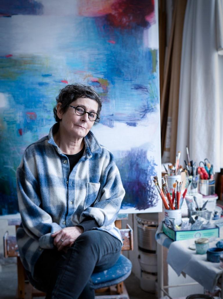 portrait d'une artiste peintre