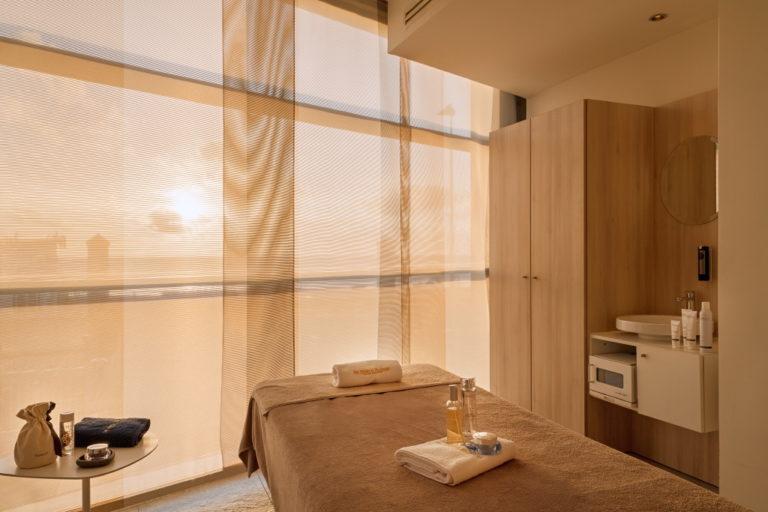 photo d'une cabine en spa bien-être