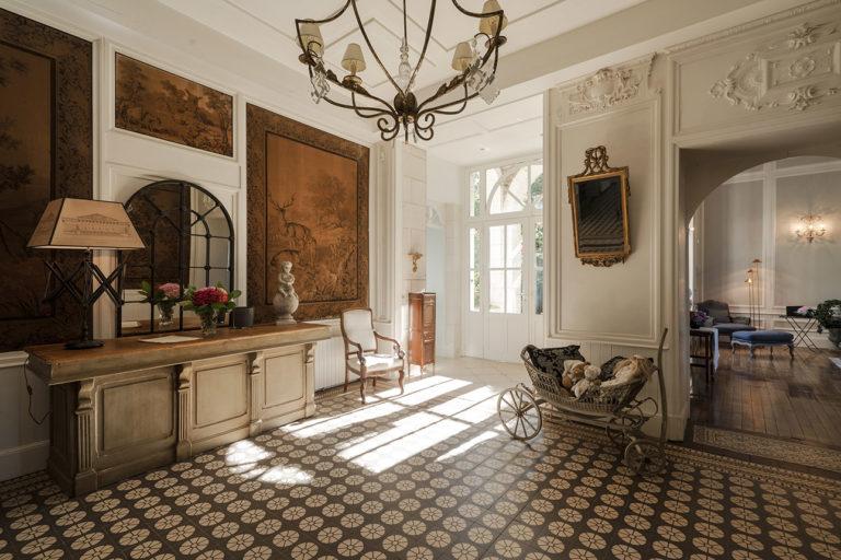 Photo décoration intérieure dans un château