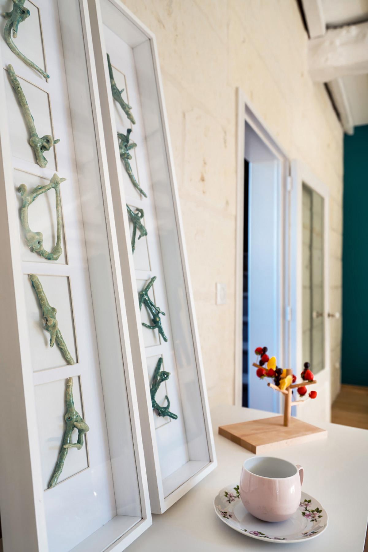 photo déco en chambre d'hôte à Sainte, en France