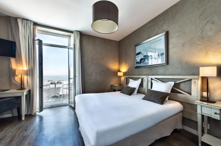 photo d'une chambre d'hôtel
