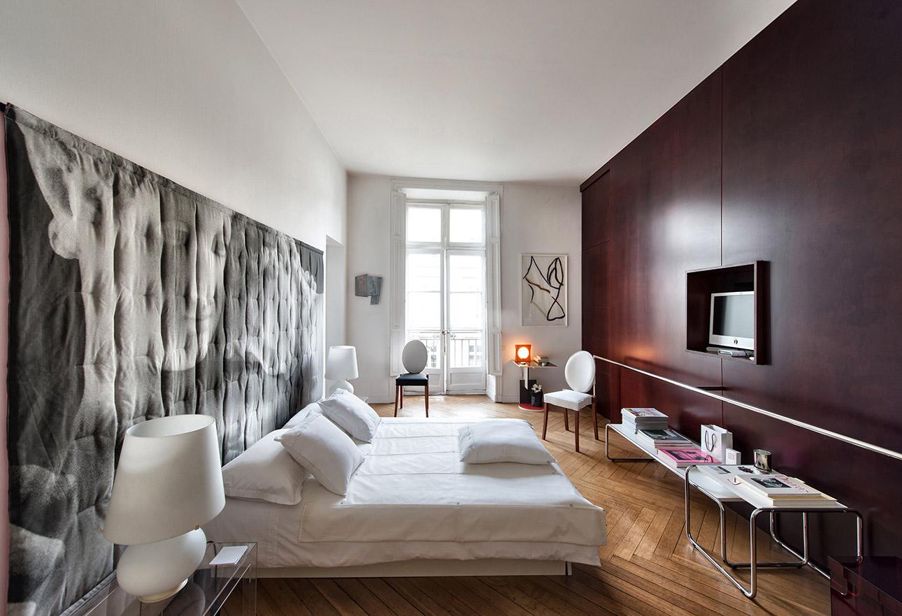 photo d'une chambre contemporaine