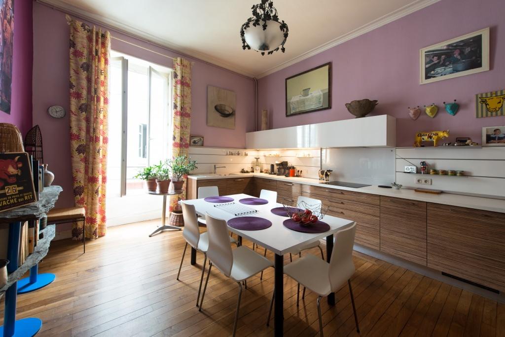 photo d'une cuisine vintage