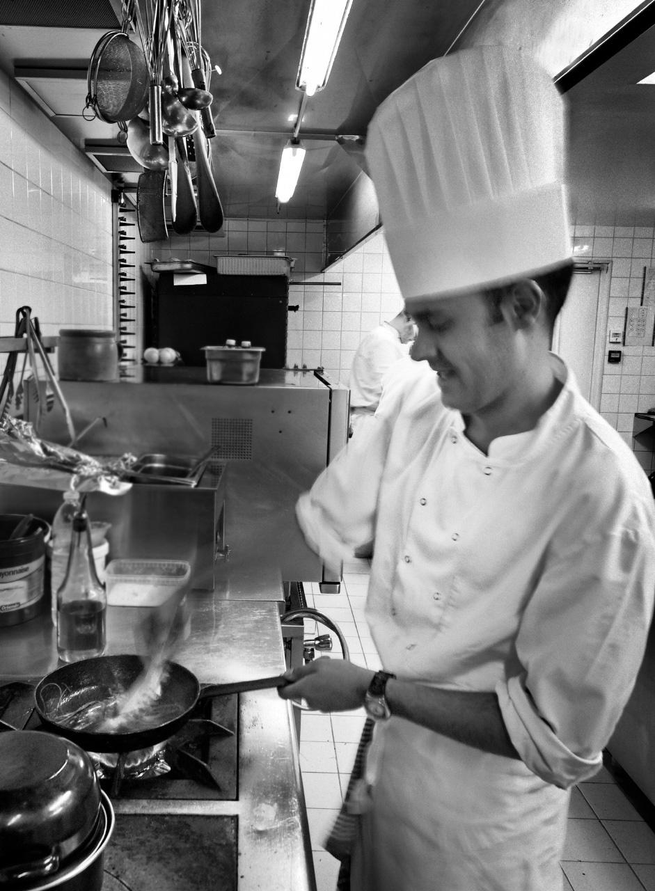 Reportage photos en cuisine professionnelle