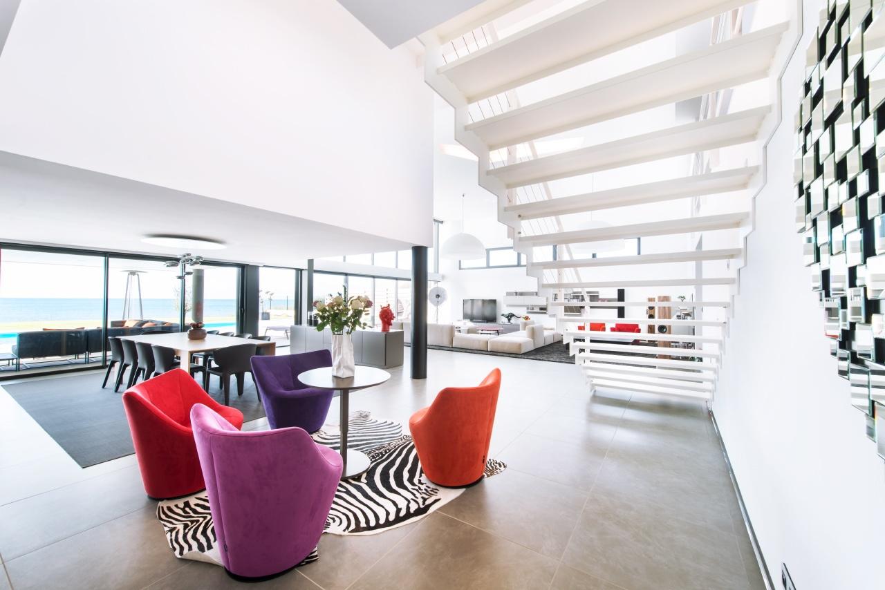 ambiance photo ultra moderne d'un loft
