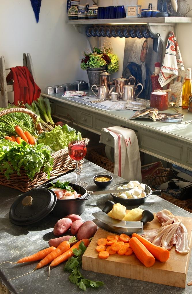 ambiance culinaire et déco dans une cuisine