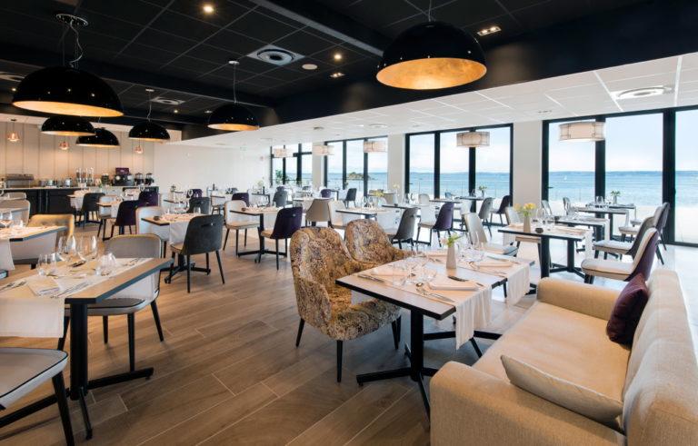 photo du restaurant de la thalassa Valdys à Douarnenez