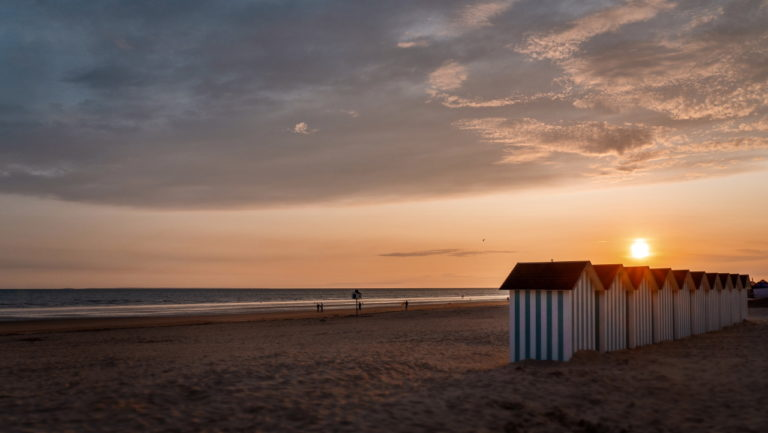 image des cabines de plage en Vendée