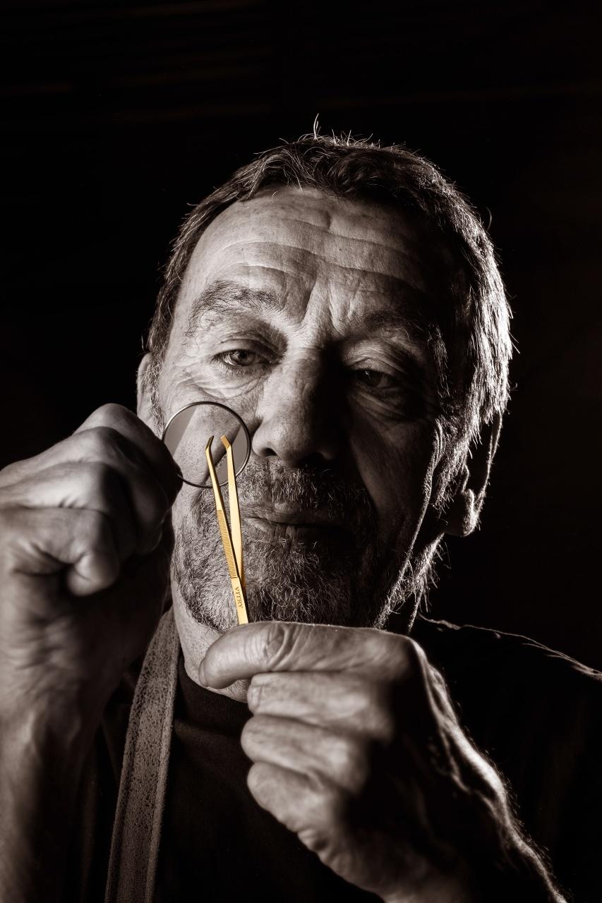 portrait d'un ouvrier spécialisé