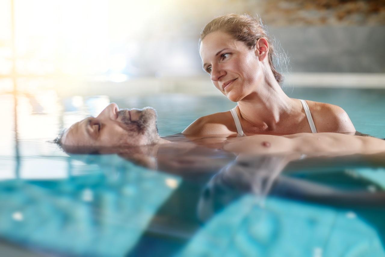 photo livestyle en soin en piscine